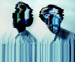 grunge, art, and blue image