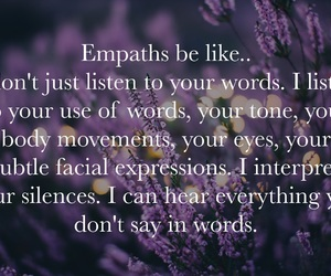 compassion, empathy, and quote image