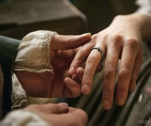 couple, outlander, and love image