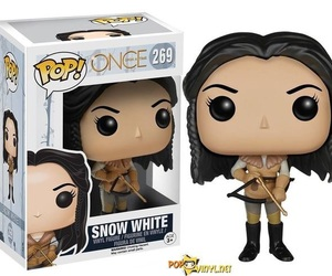 once upon a time, snow white, and funko pop image
