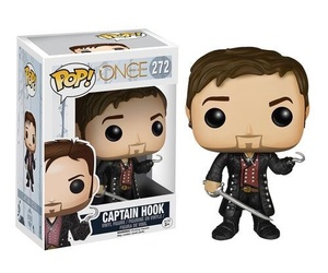 once upon a time, captain hook, and funko pop image