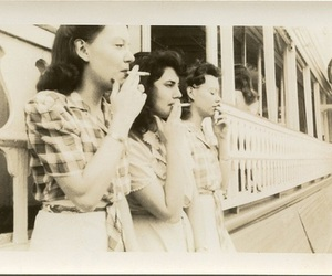 cigarette, snob, and smoking image