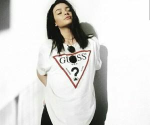 white aesthetic, kelsey simone, and fashion image