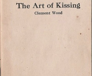 art, kissing, and book image