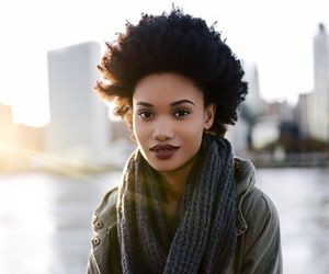 natural hair, afro hair, and kinky hair image