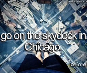chicago, skydeck, and visit image