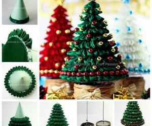 diy, christmas, and christmas tree image