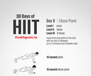 hiit workout, cardio hiit, and fitness image
