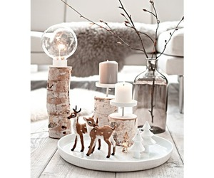 candles, christmas, and interior image