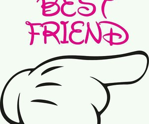 best friend, mickey mouse, and wallpaper image