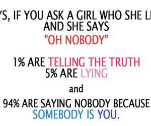 boy, girl, and truth image