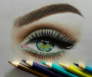 art, eye, and amazing image