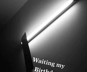 birthday and waiting image