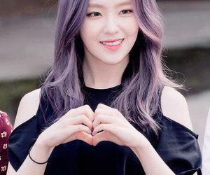 irene, red velvet, and purple hair image