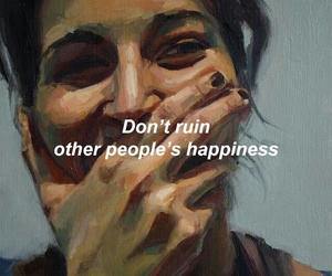 happiness, illustration, and texts image