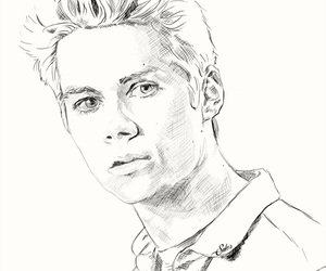 dylan o'brien, drawing, and fanart image