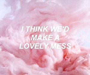 quotes and pink image