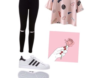 adidas, beautiful, and clothes image