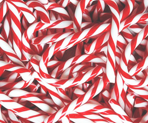 christmas, candy, and red image