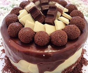 sweet, cake, and chocolate image