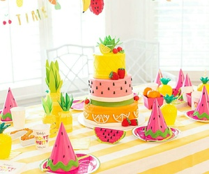 fruit, party, and kids image