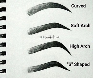 eyebrows and shape image
