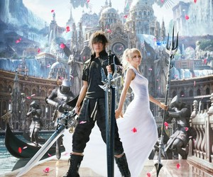 final fantasy xv, final fantasy, and noctis image