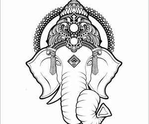buddhism and Ganesh image