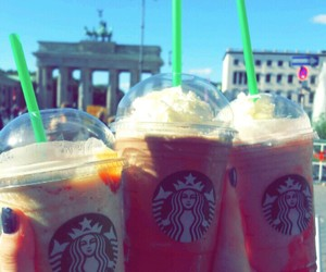 berlin, starbucks, and caramell image