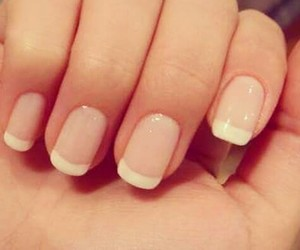 french, my, and nails image