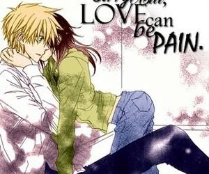 anime, kaichou wa maidsama, and couple image
