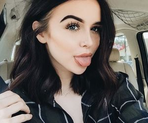 acacia brinley, makeup, and beauty image