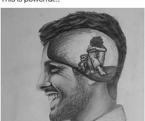 sad, quotes, and smile image