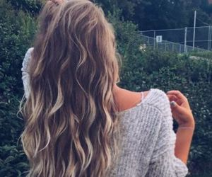 hair, beautiful, and pretty image