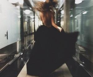 blur, dress, and fashion image