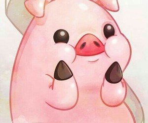 pig, gravity falls, and adorable image
