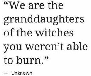 feminism, girls, and witch image