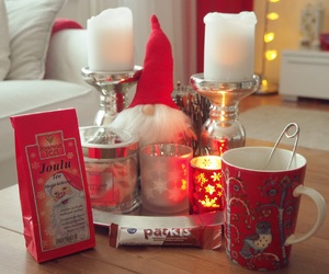 beautiful, candle, and christmas image