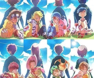 digimon and digimon adventure tri image