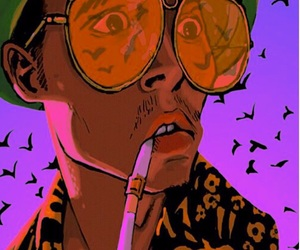 Fear and Loathing in Las Vegas, johnny depp, and gif image