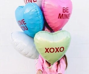 balloons, xoxo, and diy image