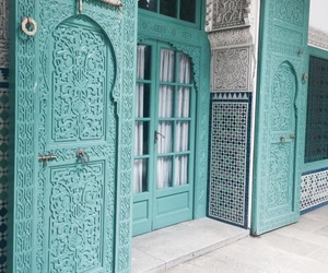 blue, architecture, and morocco image