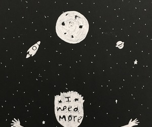 draw, star, and space image