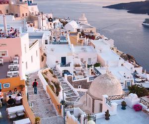 Greece, travel, and santorini image