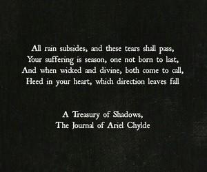 sad and a treasury of shadows image