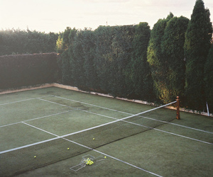 tennis, nature, and court image