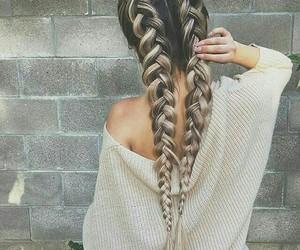 braids, hairgoal, and longhair image