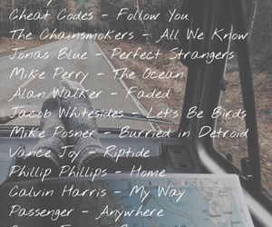adventure, Road Trip, and songs image