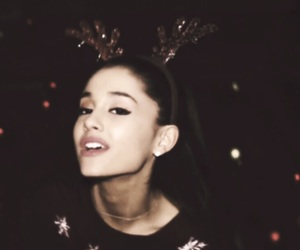 ariana grande, santa tell me, and ariana image