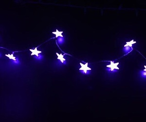 purple, light, and stars image